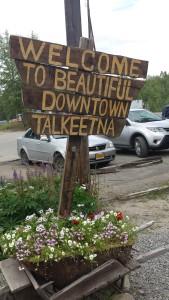 Talkeetna sign