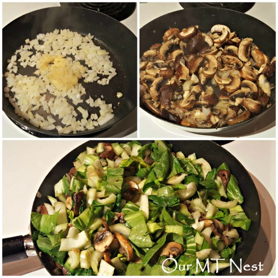 veggie stir fry w