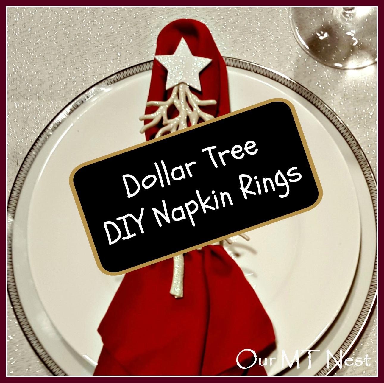 Dollar Tree Diy Napkin Rings