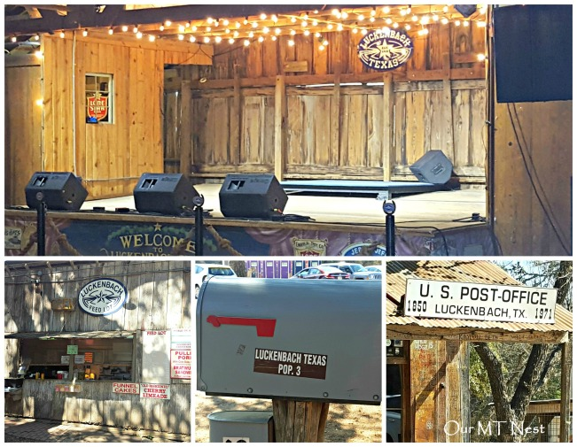 Luckenbach Collage w