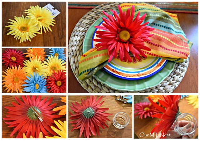 Napkin Ring Collage w