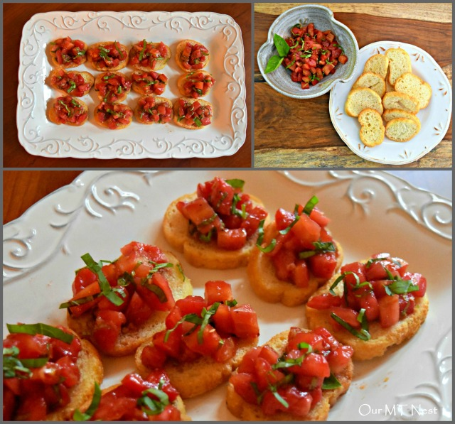 Bruschetta Collage w