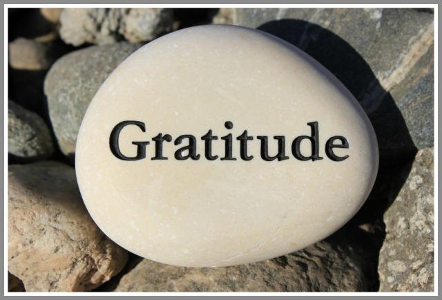 gratitude framed